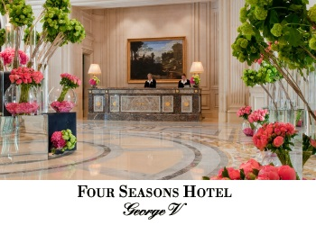 four seasons georges v entrance france hotel palace